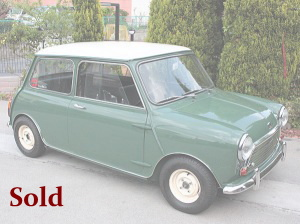 Morris mini1000 Cooper Mk-2.sold
