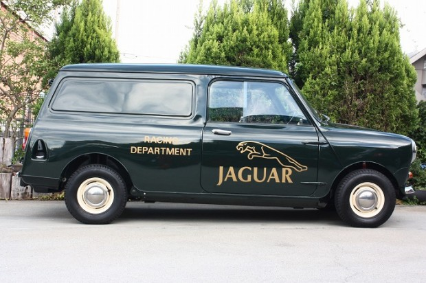'72 MINI VAN-JAGUAR RACING仕様